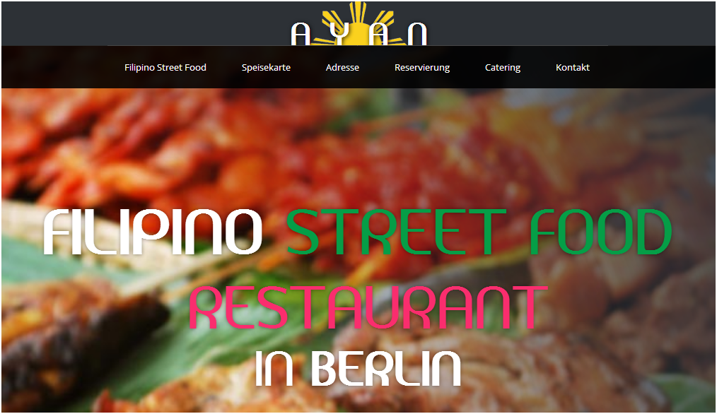 Ayan Filipino Street Food Restaurant